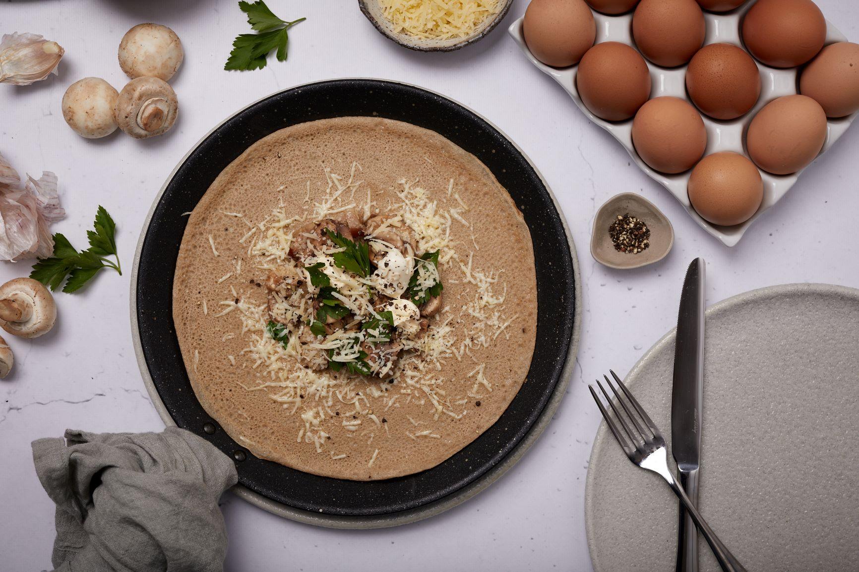 Manu S Savoury Buckwheat Crepes