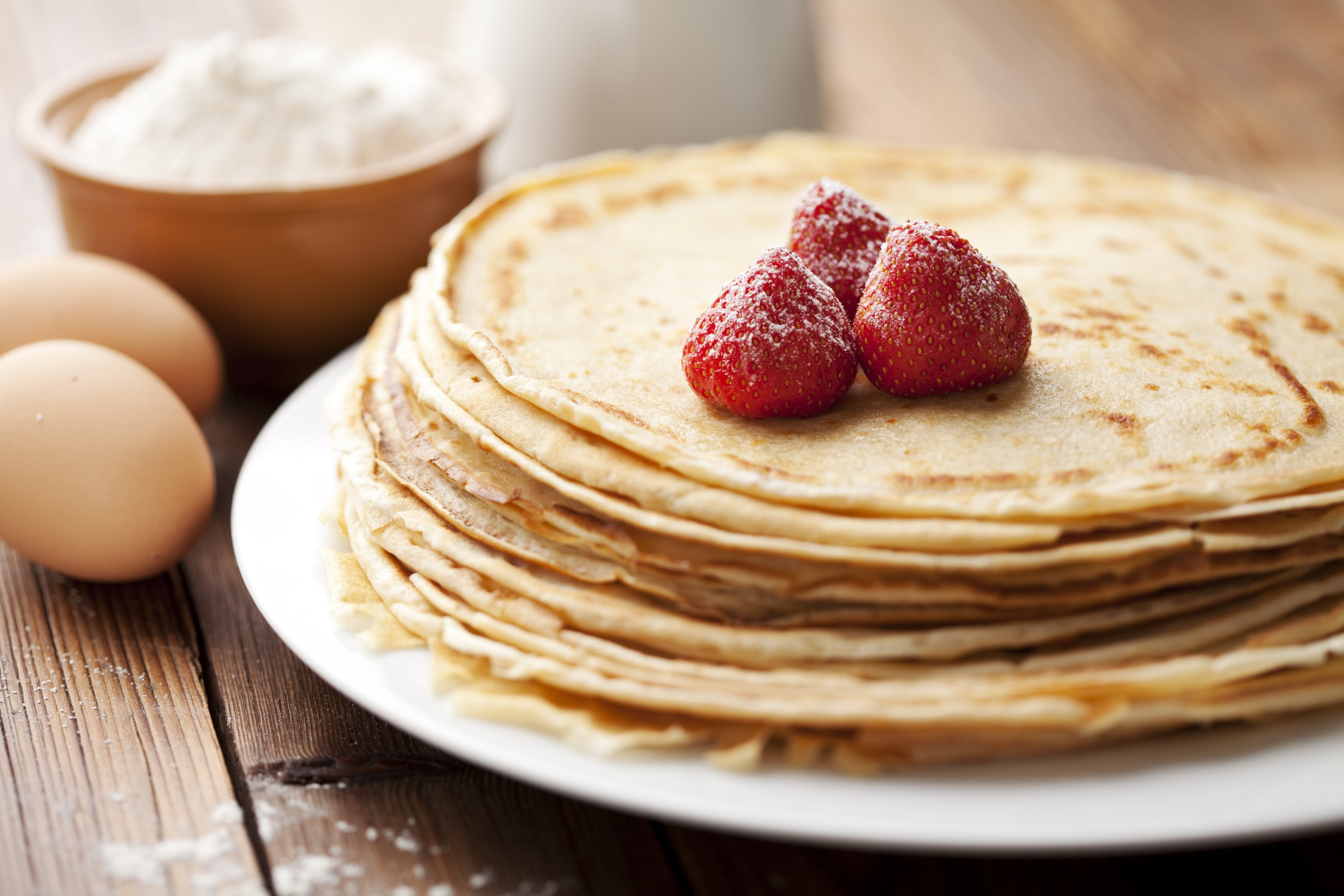 Basic Crepes Recipe How To Make Basic Crepes Australian Eggs